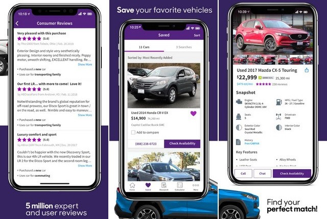 Cars.com - Best car App for iPhone