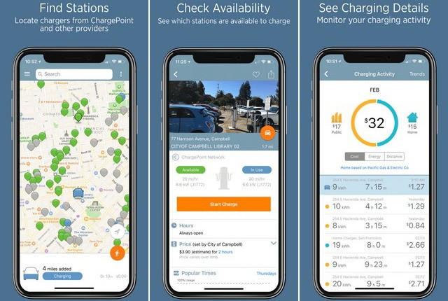 ChargePoint - Best car App for iPhone