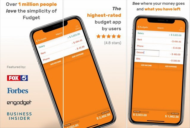 Fudget - Best Budgeting App for iPhone