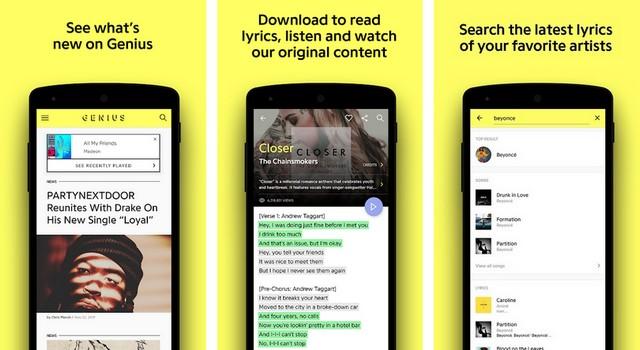 Genius - Best Lyrics App for Android