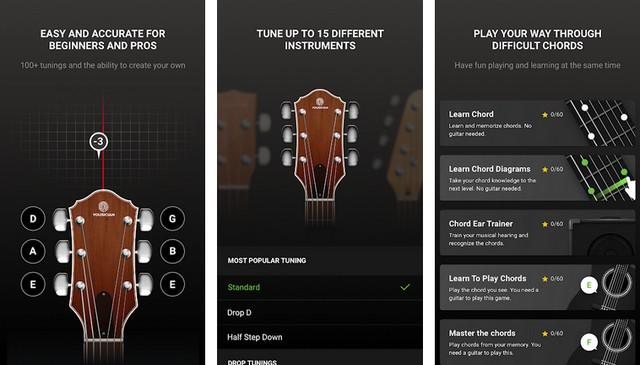 GuitarTuna - Best Guitar Tuner App