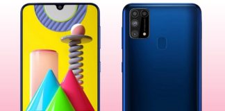 How to wipe cache partition on Samsung Galaxy M31