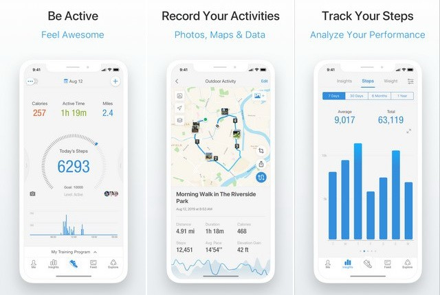 Pacer Pedometer - Best Pedometer App for iPhone