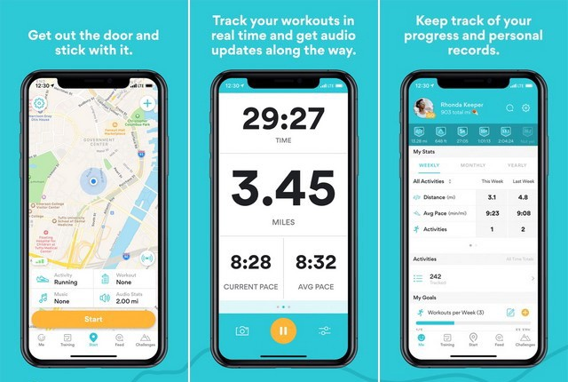 Runkeeper - Best Pedometer App for iPhone