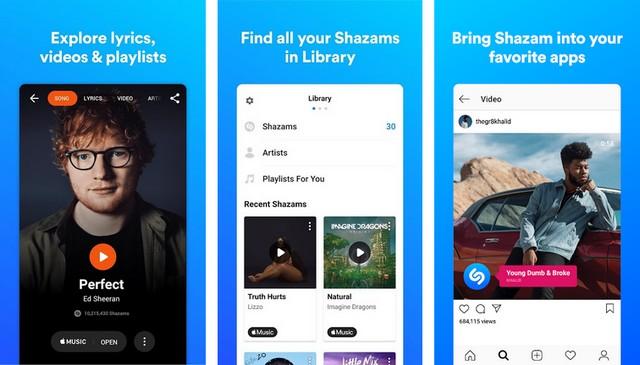 Shazam - Best Lyrics App for Android