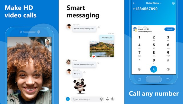 Skype - Best WeChat Alternative for Android