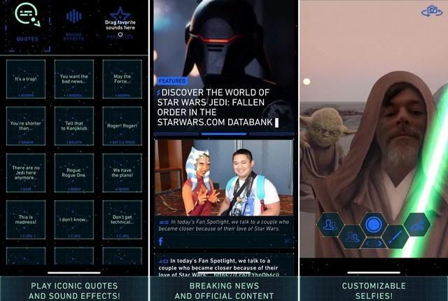 Star Wars - Best Disney App for iPhone