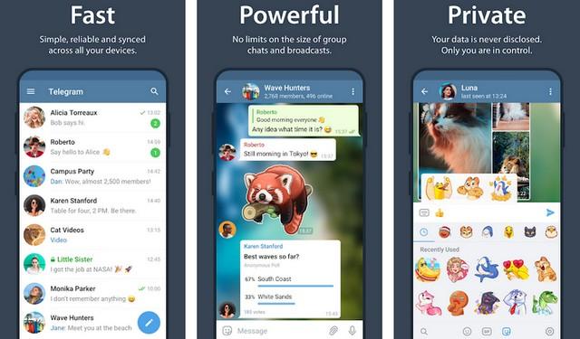 Telegram - Best WeChat Alternative for Android