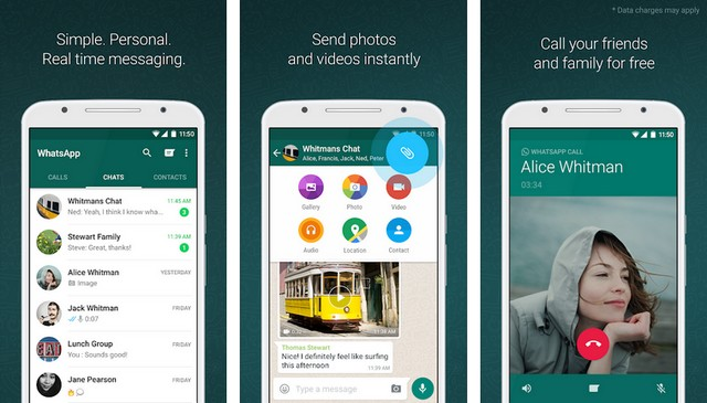 WhatsApp - Best WeChat Alternative for Android