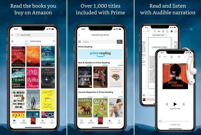 Amazon Kindle - Best Comic Book Reader App