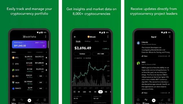 Blockfolio - Best Cryptocurrency App