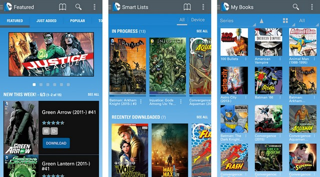 DC Comics - Best Comic Book Reader App