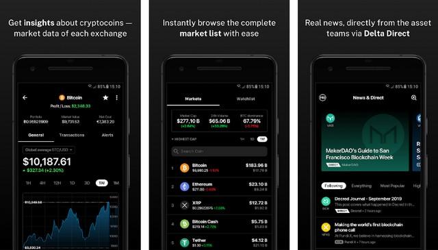 Delta - Best Cryptocurrency App