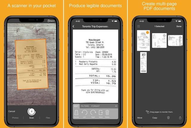 Genius Scan - Best Document Scanner App