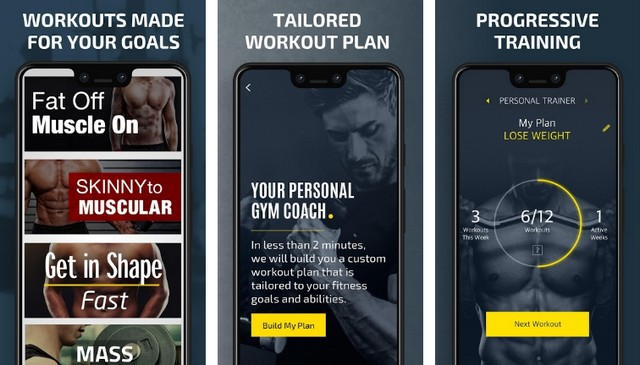 Gym Workout Planner - Best Bodybuilding App