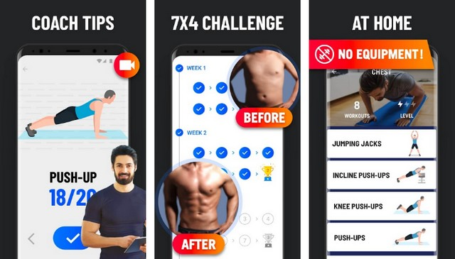 Home Workout - Best Bodybuilding App