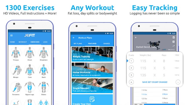 JEFIT - Best Bodybuilding App