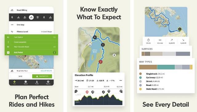 Komoot - Best Hiking App