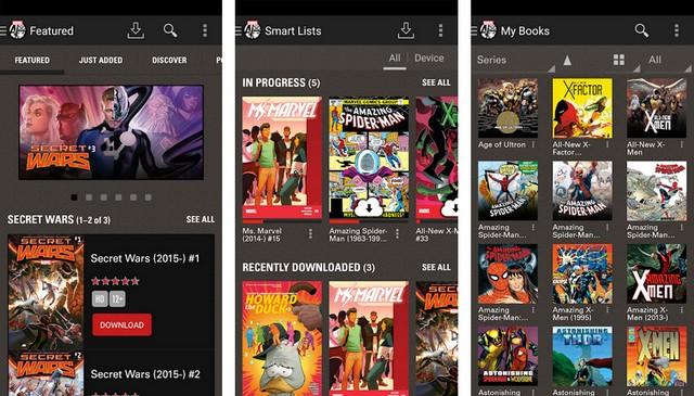 Marvel Comics - Best Comic Book Reader App