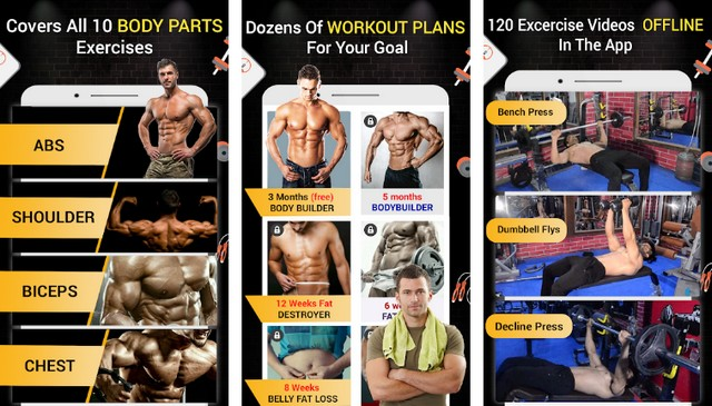 Pro Gym Workout - Best Bodybuilding App