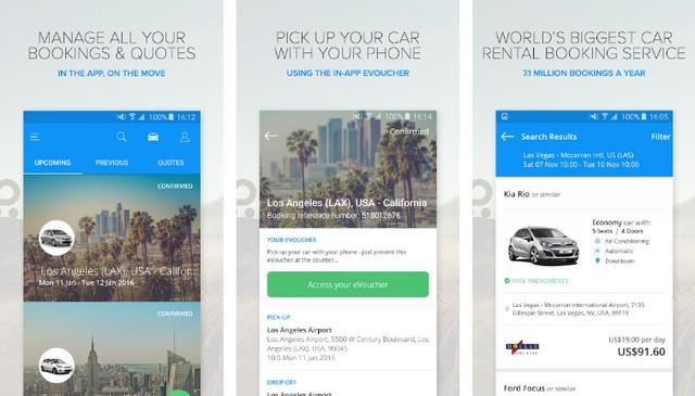 Rentalcars - Best Car Rental App