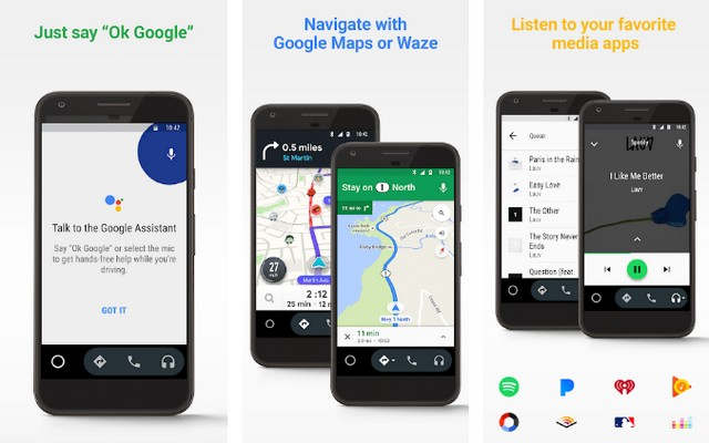 Android Auto - Best Road Trip App