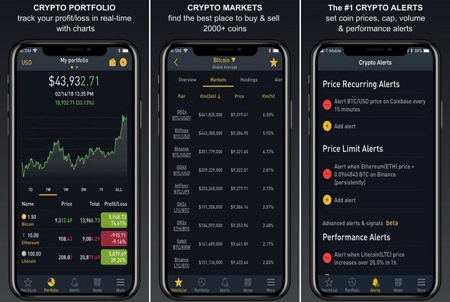 BitScreener - Best Cryptocurrency App
