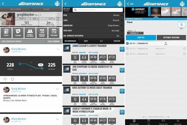 BodySpace - Best Bodybuilding App