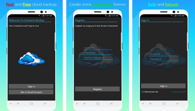 Contacts Backup - Best Contact Backup App