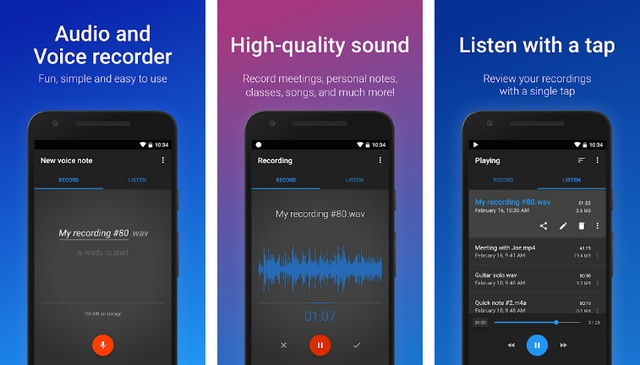 Easy Voice Recorder - Best Audio Recording App