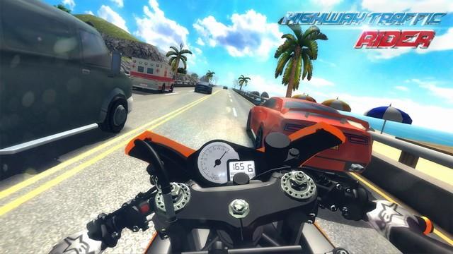 Highway Traffic Rider 3D