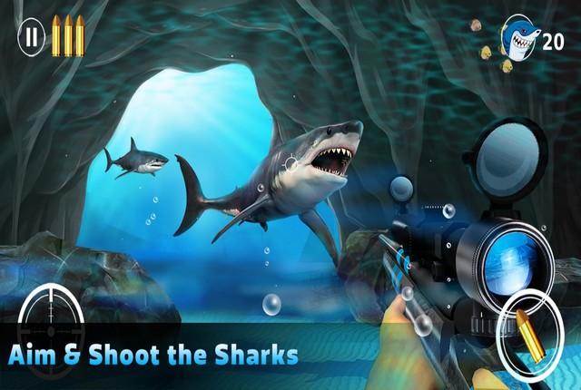 Shark Hunting - Hunting Games