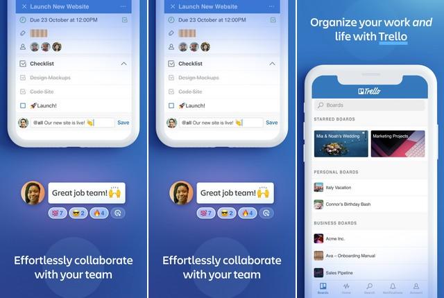 Trello - Best Productivity App