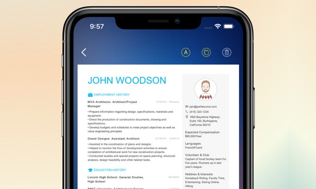 Best Resume Builder Apps for iPhone