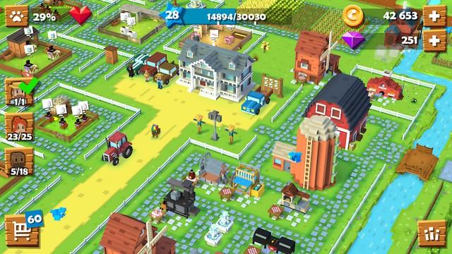 Blocky Farm - Best Farming Game