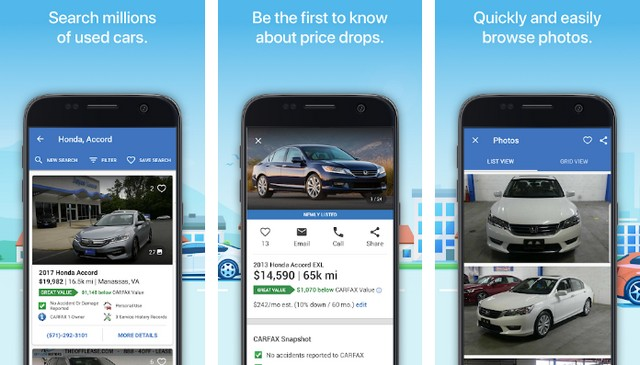 Carfax - Best Car Buying App