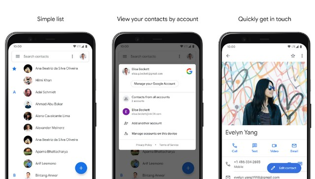 Contacts - Best Contact Manager App