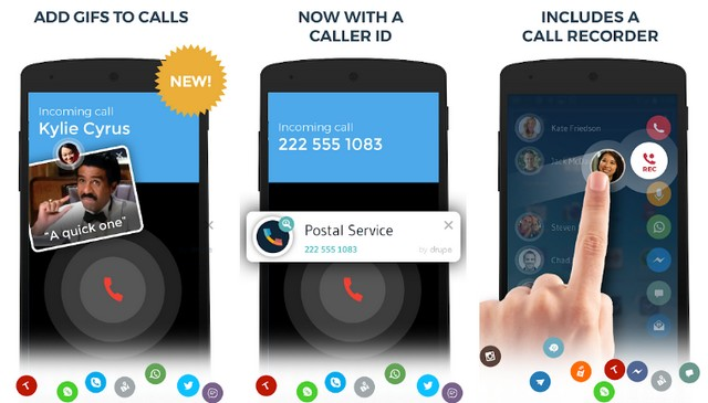 Drupe - Best Contact Manager App
