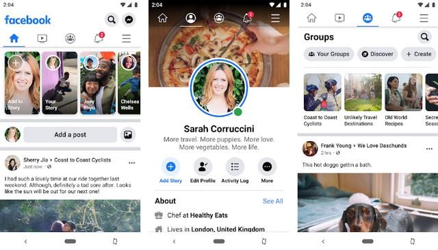 Facebook - App like Instagram