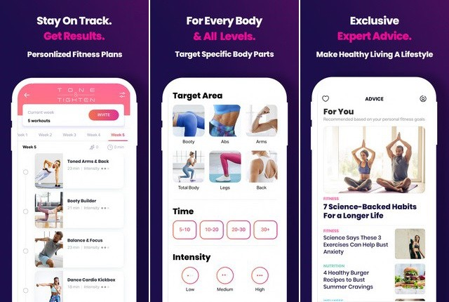 FitOn Workouts - Best iPhone Workout App