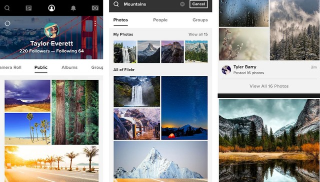 Flickr - Best App Like Instagram