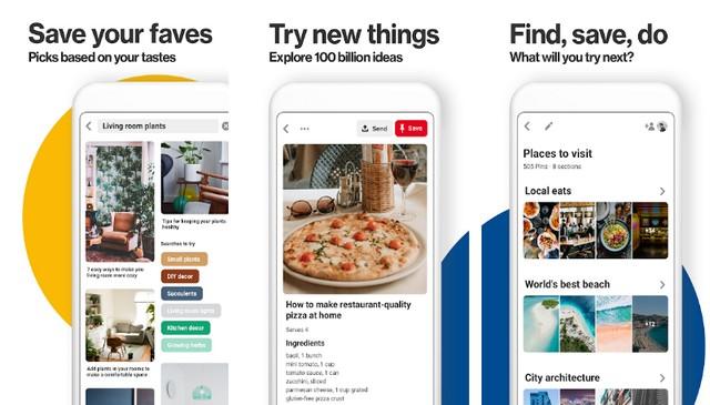 Pinterest - Best App Like Instagram