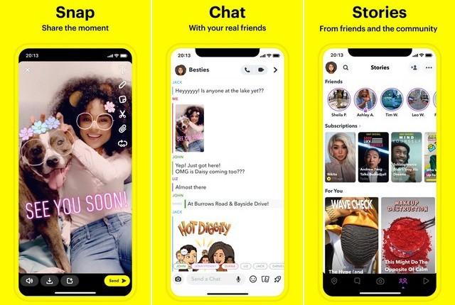 Snapchat - Best Instagram Alternative
