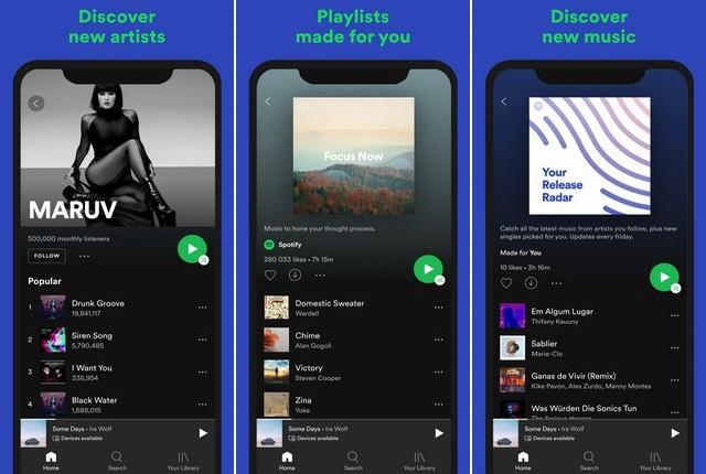 Spotify - Best Apple CarPlay App