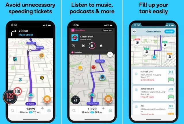 Waze - Best Apple CarPlay App