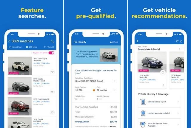 CarMax - Best Car Buying App
