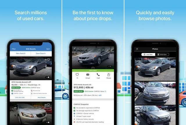 Carfax - Best Car Buying App