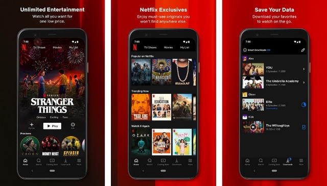 Netflix - Best Halloween App