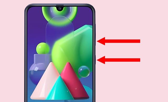 Screenshot on Samsung Galaxy M21