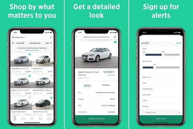 Shift - Best Car Buying App
